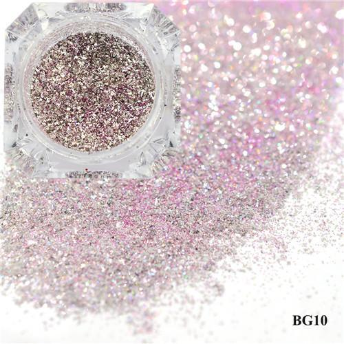 1Box Platinum Shiny Nail Glitter Powder Laser Sparkly Diamond Manicure Nail Art Chrome Pigment Diy-Nails & Tools-SWEETTREND nail art Store-10-EpicWorldStore.com