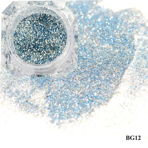 1Box Platinum Shiny Nail Glitter Powder Laser Sparkly Diamond Manicure Nail Art Chrome Pigment Diy-Nails & Tools-SWEETTREND nail art Store-12-EpicWorldStore.com