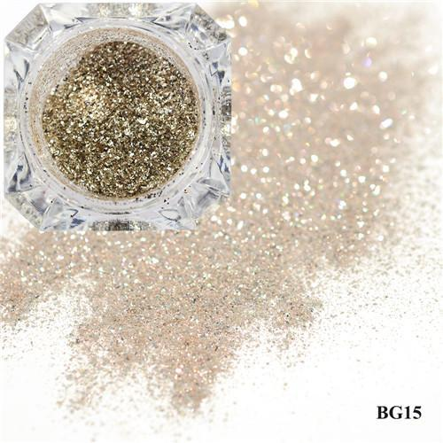 1Box Platinum Shiny Nail Glitter Powder Laser Sparkly Diamond Manicure Nail Art Chrome Pigment Diy-Nails & Tools-SWEETTREND nail art Store-15-EpicWorldStore.com