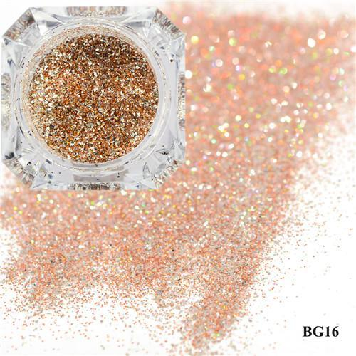 1Box Platinum Shiny Nail Glitter Powder Laser Sparkly Diamond Manicure Nail Art Chrome Pigment Diy-Nails & Tools-SWEETTREND nail art Store-16-EpicWorldStore.com