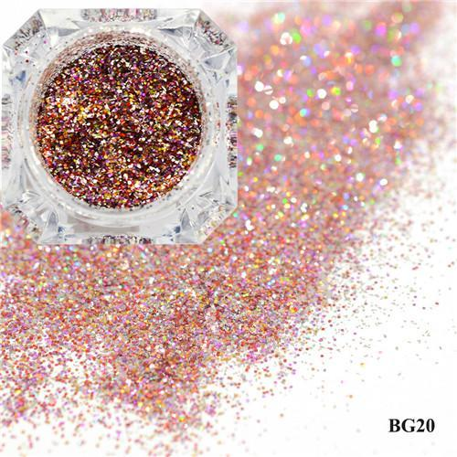 1Box Platinum Shiny Nail Glitter Powder Laser Sparkly Diamond Manicure Nail Art Chrome Pigment Diy-Nails & Tools-SWEETTREND nail art Store-20-EpicWorldStore.com