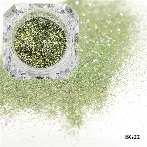 1Box Platinum Shiny Nail Glitter Powder Laser Sparkly Diamond Manicure Nail Art Chrome Pigment Diy-Nails & Tools-SWEETTREND nail art Store-22-EpicWorldStore.com