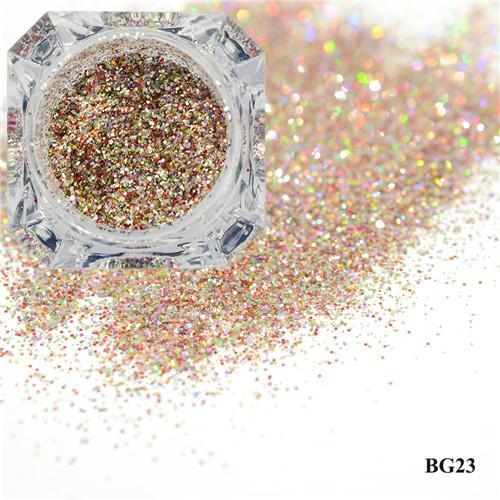 1Box Platinum Shiny Nail Glitter Powder Laser Sparkly Diamond Manicure Nail Art Chrome Pigment Diy-Nails & Tools-SWEETTREND nail art Store-23-EpicWorldStore.com