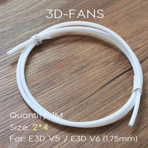 1M Ptfe Tube Teflon Pipe To J-Head Hotend Reprap Rostock Bowden Extruder Throat Filament Id 2Mm Od-Office Electronics-3D-FANS-EpicWorldStore.com
