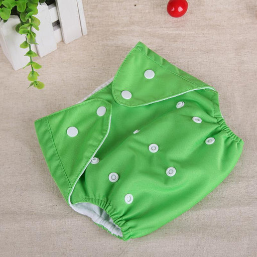 1Pc Baby Diapers Washable Reusable Nappies Grid/Cotton Training Pant Cloth Diaper Baby Fraldas-Baby Care-The word of baby's Store-Green-For winter-EpicWorldStore.com