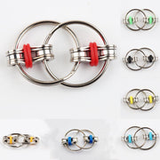 1Pc Childrens Toy Chain Fidget Toy Hands Spinner Key Ring Sensory Toys Stress Relieve Adhd Top-Stress Relief Toy-Summer style store-BK-EpicWorldStore.com
