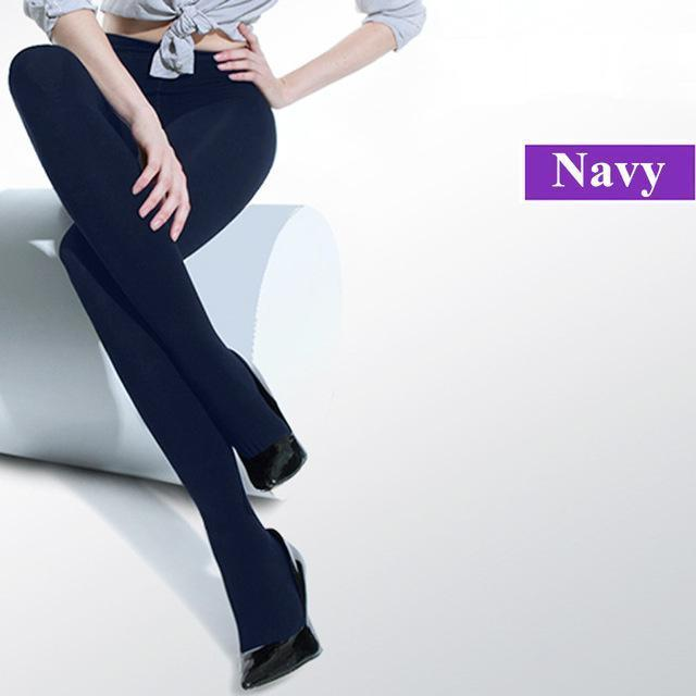 f01c4a992 1Pc Stylish Beauty Women Girl Spring Autumn Opaque Footed Tights Stylish  Pantyhose Leg Warmers-Socks