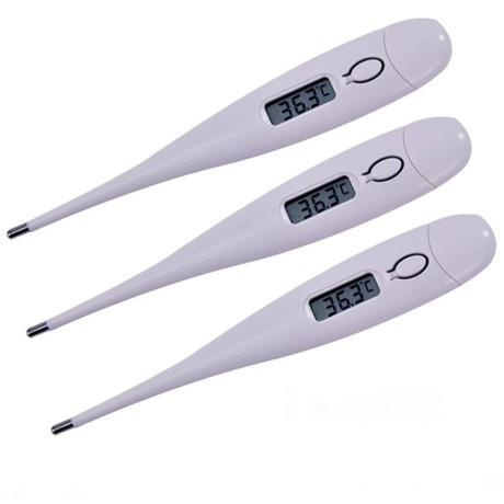 1Pcs Digital Lcd Heating Thermometer Tools Kids Baby Child Body Temperature Measurement-Baby Care-The Girl Next Door Trading Co., Ltd-1Pcs White-EpicWorldStore.com