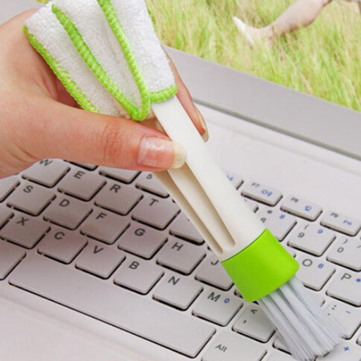 1Pcs Pocket Brush Keyboard Dust Collector Air-Condition Cleaner Computer Clean Tools Window Leaves-Computer Cleaners-JETTING Digital Store-EpicWorldStore.com