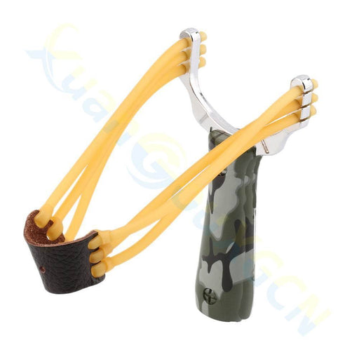 1Pcs Powerful Steel Alloy Slingshot Sling Shot Catapult Camouflage Bow Catapult Outdoor Hunting-Shooting-liang jialiang's store-1pcs Camouflage-EpicWorldStore.com