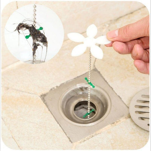1Pcs Shower Drain Hair Catcher Stopper Clog Sink Strainer Bathroom Accessories Cleaning Protector-Household Cleaning-Ahri-EpicWorldStore.com