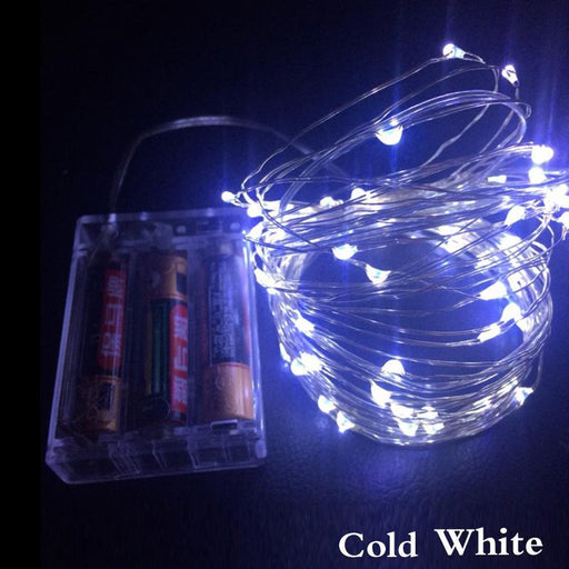 1Set 2M 5M 10M 3Aa Battery Powered Decorative Led Copper Wire Fairy String Lights For Christmas-Holiday Lighting-ZHONGLIXING official store-Changeable-2M 20LEDs-EpicWorldStore.com