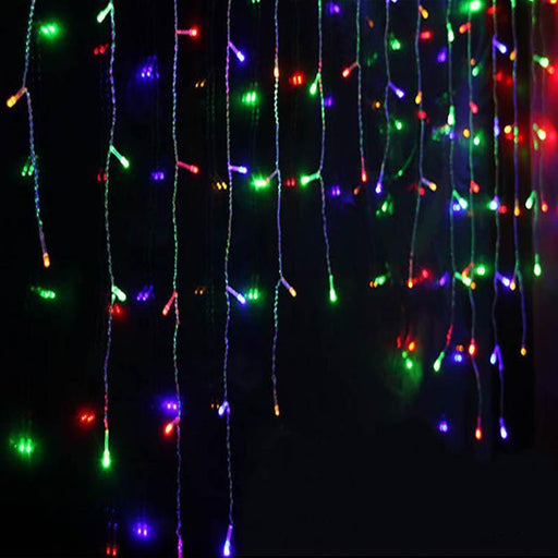 1X Christmas Lights Outdoor Decoration 5M Droop 0.4-0.6M Led Curtain Icicle String Lights New Year-Holiday Lighting-ZHONGLIXING official store-Changeable-EpicWorldStore.com