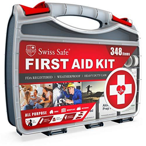 2-In-1 First Aid Kit / 348-Piece / Double-Sided Hardcase-Home Essentials-Amazon-348 Piece-EpicWorldStore.com