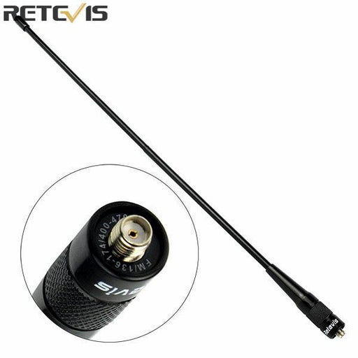 2 Pcs Retevis Rhd-771 Sma-F Antenna 15.4'' 144/430 Mhz U/V Antenna For Baofeng 888S Retevis H-777-Communication Equipments-Yisair Electronic Tech Store-EpicWorldStore.com