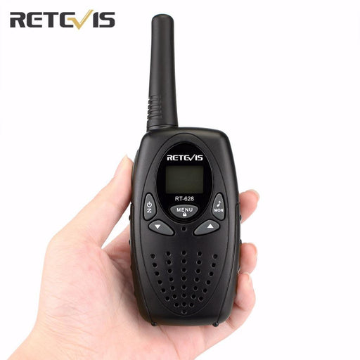 2 Pcs Rt628 Kids Retevis Walkie Talkie Transceiver Uhf Frequency Portable 0.5W 446Mhz Lcd Display-Communication Equipments-Yisair Electronic Tech Store-Red EU Frequency-EpicWorldStore.com