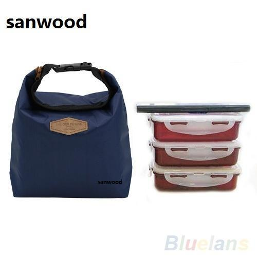 2015 Thermal Cooler Insulated Waterproof Lunch Storage Picnic Bag Pouch Lunch Bags Hot-Functional Bags-Chic Beauties-Blue-EpicWorldStore.com