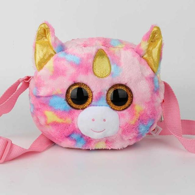 aa81772b2c7 20Cm Ty Plush Toys Bags Stuffed Animals Plush Backpack Animals Kids Toys  Wallets Coin Purse Change