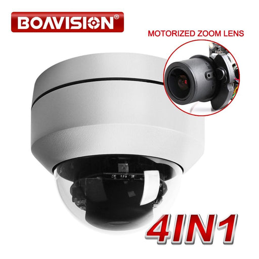 2.0Mp 1080P Ahd 4 In 1 Cctv Camera Video Surveillance Security Outdoor Mini Ptz Camera Auto-Focus-BOAVISION Official Store-EpicWorldStore.com