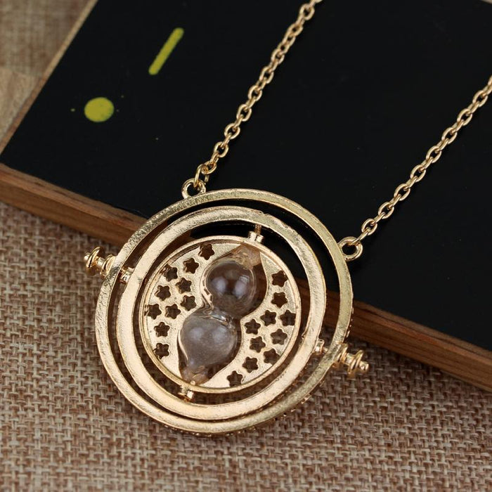 20Pc Hermione Granger Rotating Horcrux Time Turner Necklace Time Converter Time-Turner Pendant-Sisters jewellery Store-1-EpicWorldStore.com