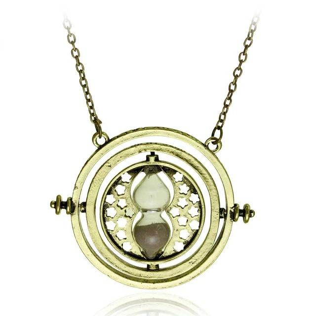 20Pc Hermione Granger Rotating Horcrux Time Turner Necklace Time Converter Time-Turner Pendant-Sisters jewellery Store-3-EpicWorldStore.com