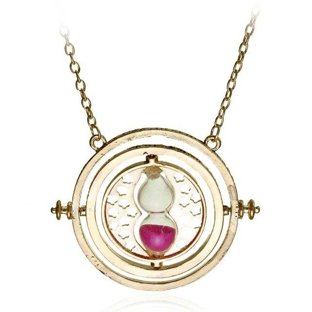 20Pc Hermione Granger Rotating Horcrux Time Turner Necklace Time Converter Time-Turner Pendant-Sisters jewellery Store-4-EpicWorldStore.com