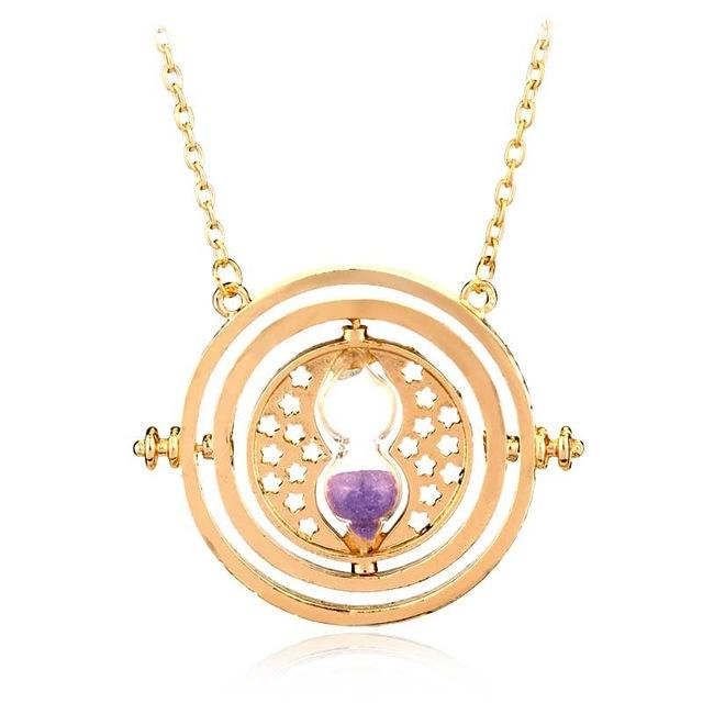 20Pc Hermione Granger Rotating Horcrux Time Turner Necklace Time Converter Time-Turner Pendant-Sisters jewellery Store-5-EpicWorldStore.com