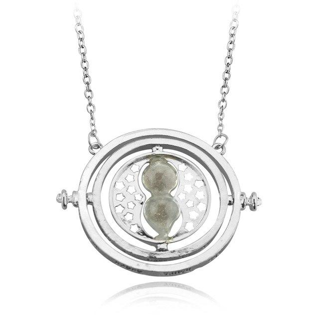 20Pc Hermione Granger Rotating Horcrux Time Turner Necklace Time Converter Time-Turner Pendant-Sisters jewellery Store-6-EpicWorldStore.com