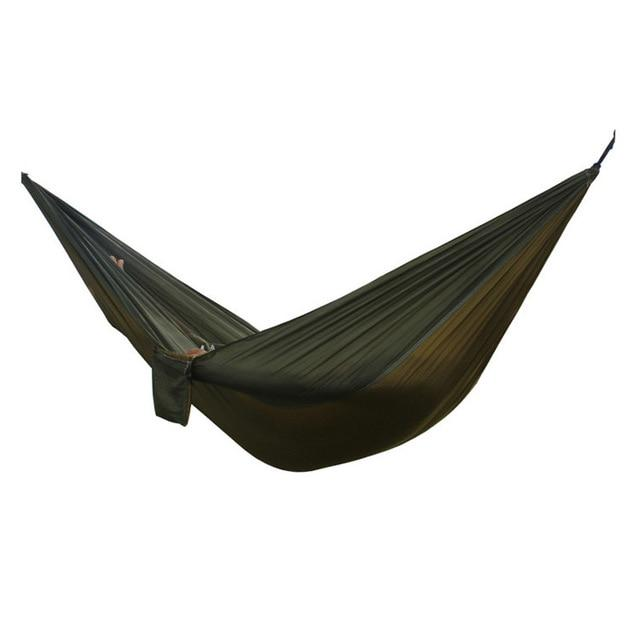 Humor 2 People Portable Parachute Hammock Camping Survival Garden Flyknit Hunting Leisure Hamac Travel Double Person Hamak Home