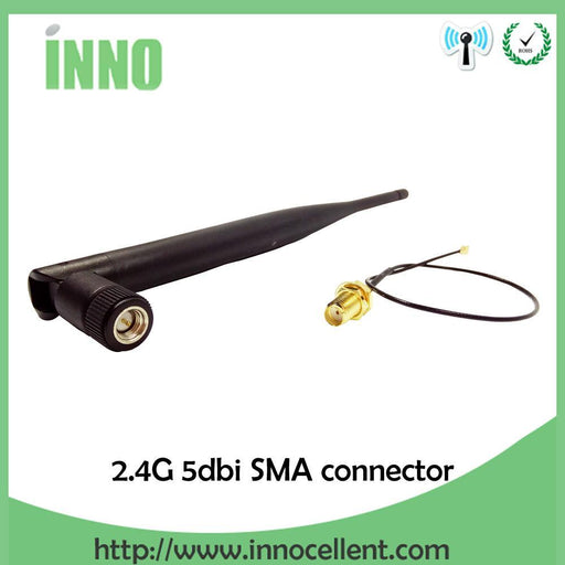 2.4Ghz 5Dbi Wifi 2.4G Antenna Sma Male Omni-Directional Sma Connector Wireless Router Antenna-Communication Equipments-Innocellent Store-EpicWorldStore.com