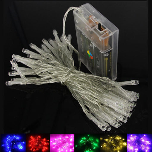 2M 5M 10M Led String Lights 3*Aa Battery Operated Waterproof Fairy Led Christmas Lights For-Holiday Lighting-BEILAI Official Store-Blue-2m 20LEDs-EpicWorldStore.com