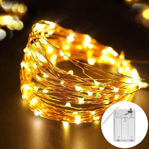 2M 5M Copper Wire Led String Lights Waterproof Holiday Led Strip Lighting For Fairy Christmas Tree-Holiday Lighting-MALITAI Official Store-Blue-2M-EpicWorldStore.com