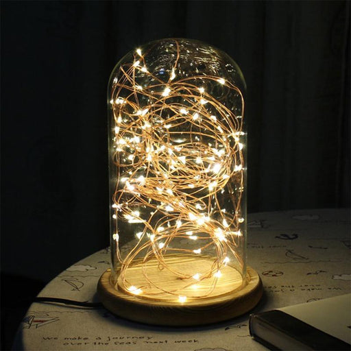 2M Or 5M Waterproof Multi Color Led Copper Wire Strip Novelty Light Dry Battery Powered String Lamp-Novelty Lighting-AIMENGTE Official Store-White-2M 20leds-EpicWorldStore.com