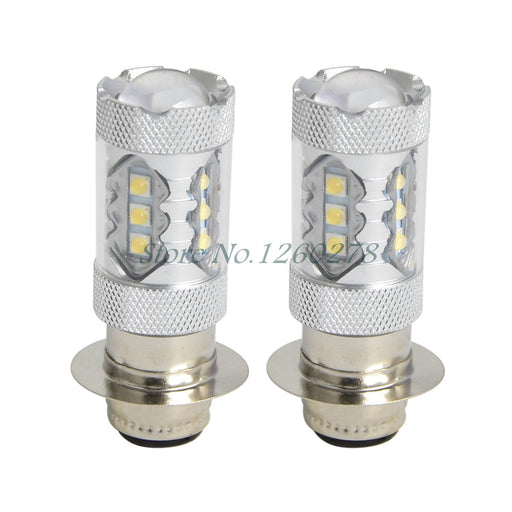 2Pcs 80W Super White Led Headlights Bulbs Upgrade For Yamaha Atvs Yfm350 400 450 660 700 Raptor-ATV,RV,Boat & Other Vehicle-CHINA CNC PARTS-EpicWorldStore.com