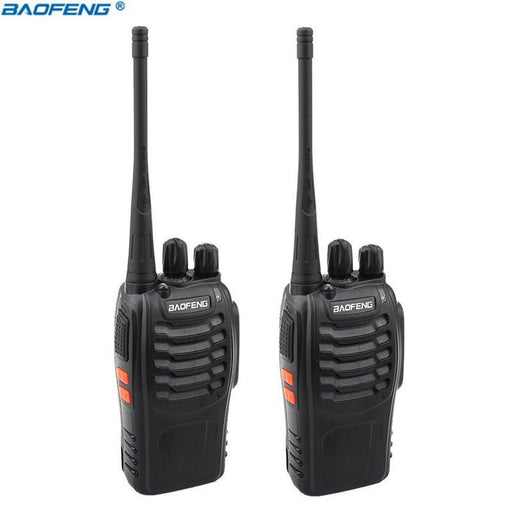 2Pcs Baofeng Bf-888S Walkie Talkie Portable Radio Bf888S 16Ch Uhf 400-470Mhz Bf 888S Comunicador-Communication Equipments-Outward Bound Center-Option1-Euro-EpicWorldStore.com
