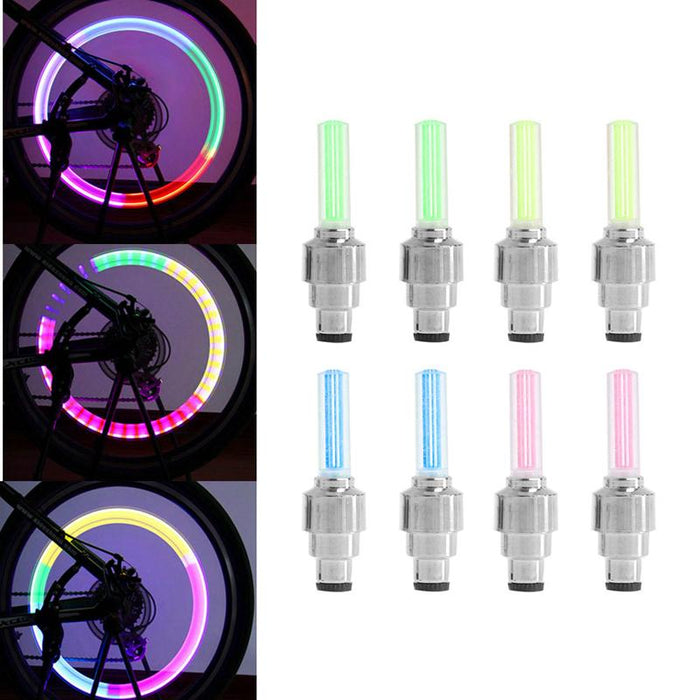 Tire Bycicle Caps Bicycle Accessories Bicycle Light 30 Lanterns Cycling 7 LED