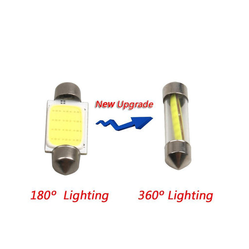 2Pcs High Quality 31Mm 36Mm 39Mm 41Mm C5W C10W 360 Degree Led Car Festoon Lights Auto Interior-Car Lights-WMMWMD Autoparts Store-36mm white-EpicWorldStore.com