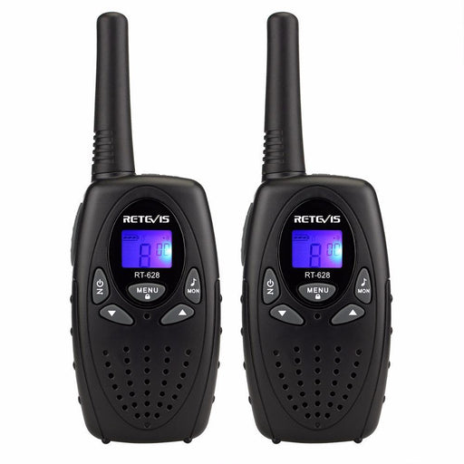 2Pcs Retevis Rt628 Walkie Talkie Mini Kids Radio Pmr Frs 0.5W Pmr446 8/22Ch Vox Ptt Lcd Display-Communication Equipments-RETEVIS Official Store-EU Freq and Red-EpicWorldStore.com