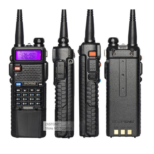 2Pcs Walkie Talkie Baofeng Uv-5R Cb Ham Radios 3800 Battery Dual Band Uhf Vhf Portable Walkie Talkie-Communication Equipments-BaofengRadios Store-EpicWorldStore.com