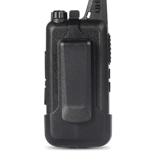 2Pcs/Lot New Zt-X6 Uhf 400-470 Mhz Black Handheld Transceiver Cb Radio Mini Radio Walkie Talkie-Communication Equipments-Pofung Radio Online Store-x6 and headset cable-EpicWorldStore.com