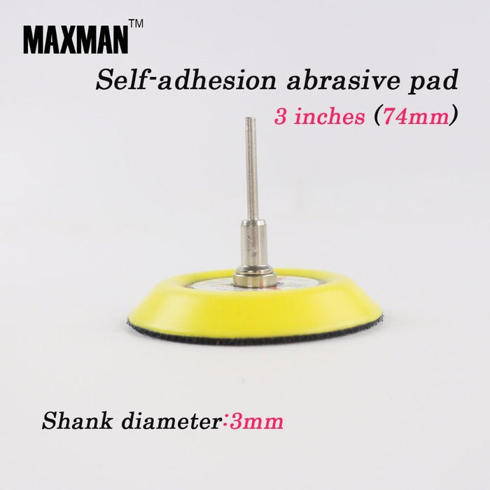1 Inch Disc Sandpaper Self-adhesion Abrasive Pad With 3mm Shank Polishing Tool