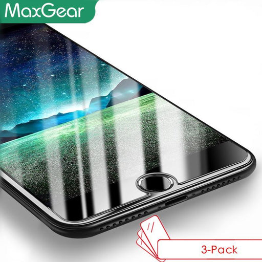 3-Pack Tempered Glass Screen Protector For Iphone 7 6 6S Plus / 5 5S Se 5C / 4 4S 0.3Mm Premium-Mobile Phone Accessories-3C Digital Store-For iPhone 4 4S-EpicWorldStore.com
