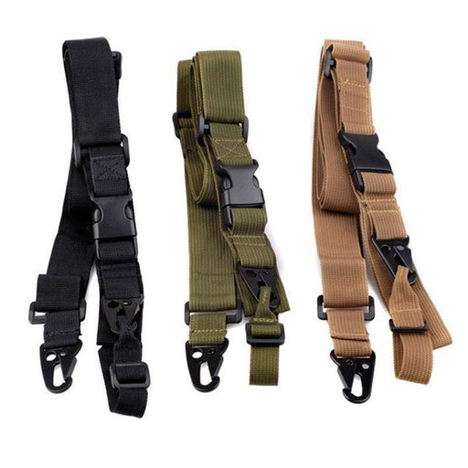 3 Point Airsoft Hunting Belt Tactical Military Elastic Gear Gun Sling Strap Outdoor Camping Survival-Hunting-A bay E Store-Army Green-EpicWorldStore.com