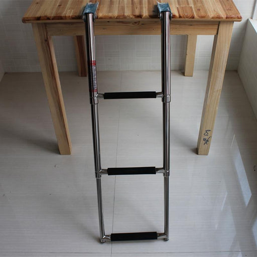 3 Step Stainless Steel Telescoping Marine Boat Ladder Swim Step Over Platform-ATV,RV,Boat & Other Vehicle-A&M PARTS Store-EpicWorldStore.com