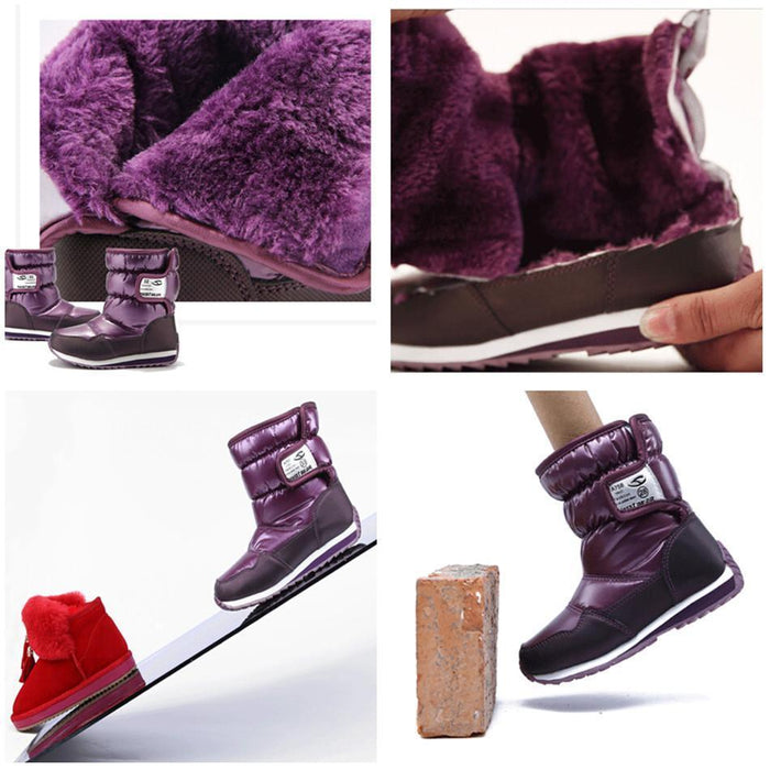 5e780bf2 -30 Degree Russia Winter Warm Baby Shoes , Waterproof Childrens Shoes ,  Girls Boys Boots