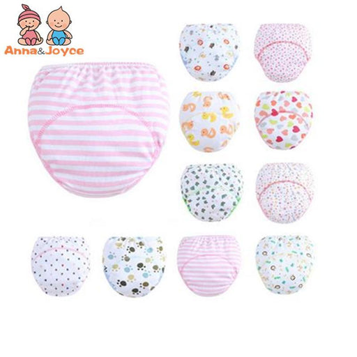 30 Pcs/Lot 3 Layers Baby Training Pants/ Learning Panties/ Infant Shorts Boy Girl Diapers Cotton-Toilet Training-Chenfa Factory Store-EpicWorldStore.com