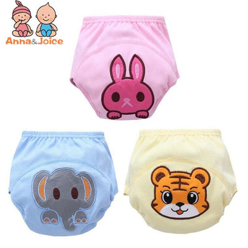 30 Pcs/Lot New ! Baby Washable Diapers/Baby Learning Pants /100% Cotton Breathable Diaper-Toilet Training-Ningbo Chenfa trade co., LTD-EpicWorldStore.com