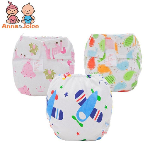 30 Pcs/Lot Reusable Baby Nappy Cloth Diapers Soft Bamboo Fibre Double-Deck Leak-Proof Cotton Nappy-Toilet Training-Ningbo Chenfa trade co., LTD-EpicWorldStore.com