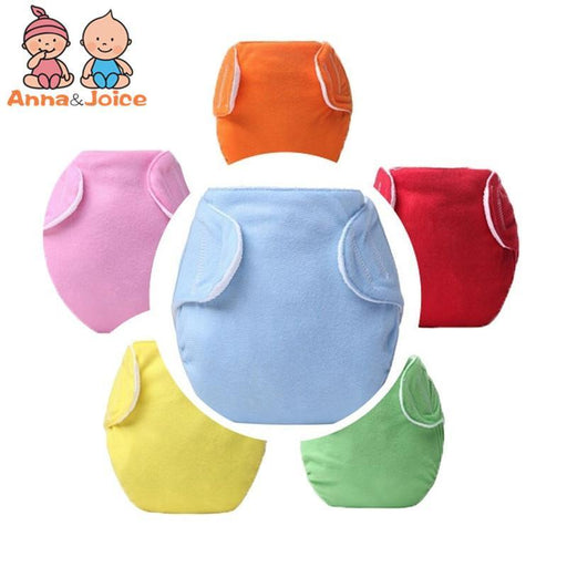 30Pcs Baby Diapers/Children Cloth Diaper/Reusable Nappies/Adjustable Diaper Cover/Washable7Colors-Toilet Training-Ningbo Chenfa trade co., LTD-EpicWorldStore.com