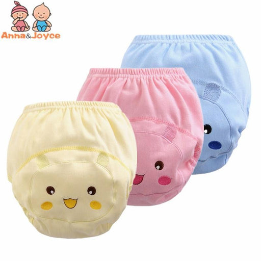 30Pcs/Lot Baby Diapers Training Pants 100% Cotton Soft Comfortable Nappy Cute Cartoon Pattern-Toilet Training-Frist-class baby & kids-EpicWorldStore.com